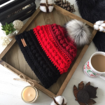 Handmade crochet beanie •Maria beanie super stylish and cozy beanie, perfect f...