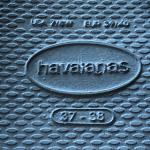 Havaianas Women's You Metallic Flip Flop Havaianas Steel Grey Size 7/8    Dres...
