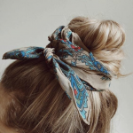 Head Scarf, Bandana and Bow Hairstyle | 25 Hair Ideas | Vera Casagrande