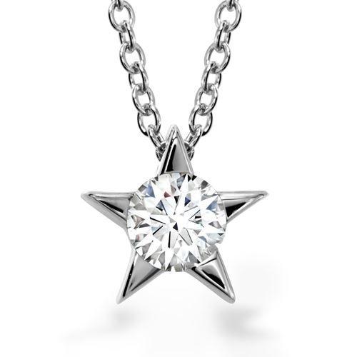 Hearts on Fire Illa Star Diamond Pendant