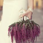 Heather: Heather is a gorgeous choice for your wedding bouquet — it has a gorg...