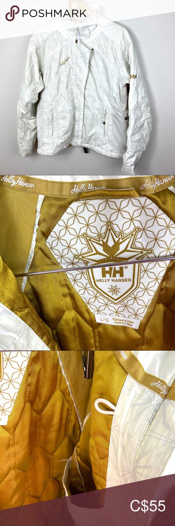 Helly Hansen Women's Ski Jacket White Size Large