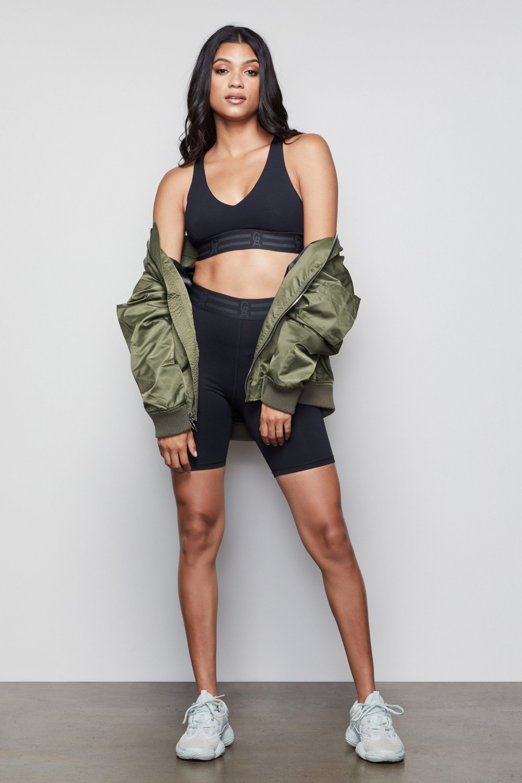 High Waisted The Icon Bike Short Black001