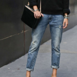 Home and Delicious: style: distressed jeans