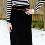 How Sydney Wears It: Maxi Skirts in Winter