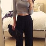 How To Wear A Crop Top In Winter- 10 Cute And Very Stylish Ways To Do So
