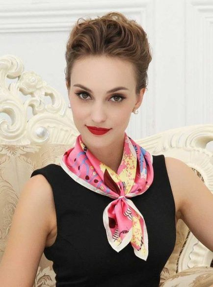 How To Wear Scarves Colour 26+ Super Ideas