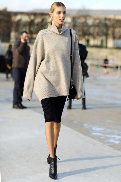 How To: Winterize Your Pencil Skirt