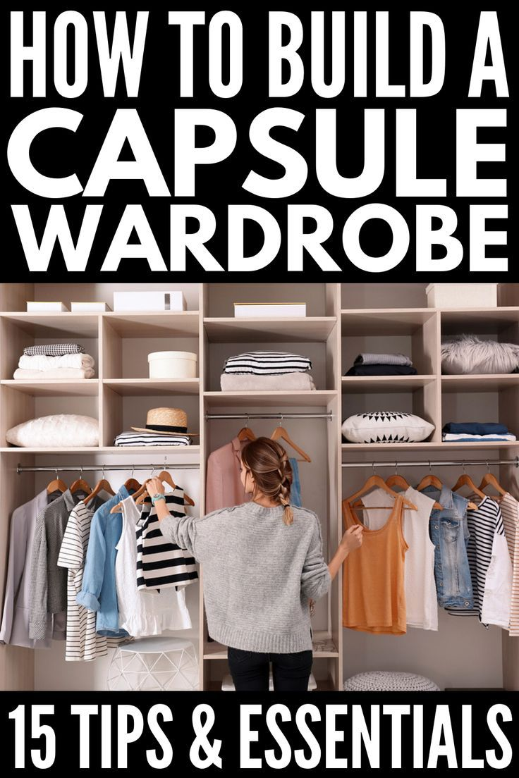 How to Build a Capsule Wardrobe: 5 Tips for Beginners