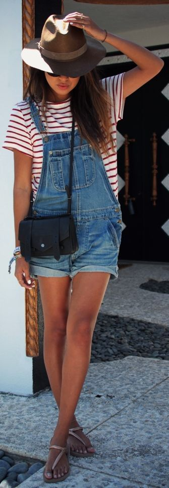 How to Style a Pretty Look with Shortalls – Pretty Designs