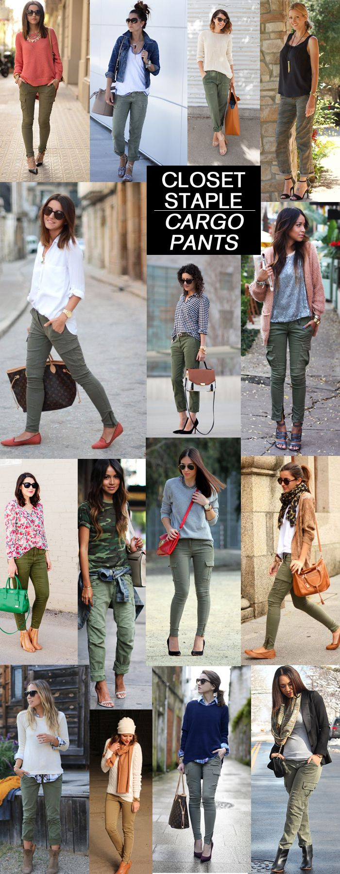 How to Wear Army Cargo Pants