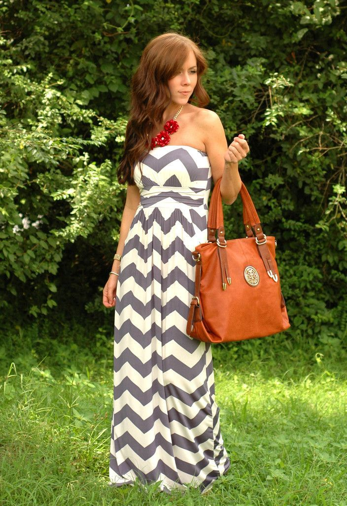How to Wear Chevron Print Clothes