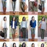 How to Wear Olive Skinny Jeans - 15 Ways
