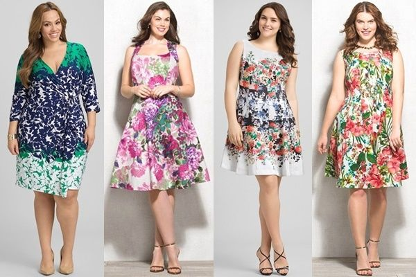 How to Wear Spring Summer 2015 Plus Size Floral Fashion Trend