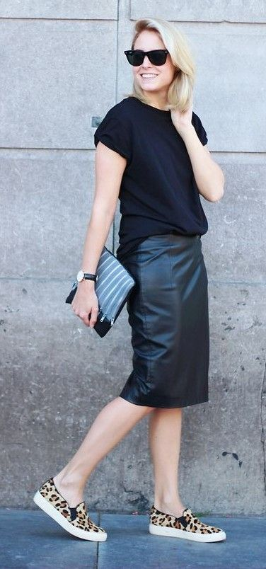 How to Wear The High Waisted Pencil Skirt: The Definitive Guide