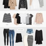 How to build a capsule wardrobe | Style essentials, minimalist outfits and close...