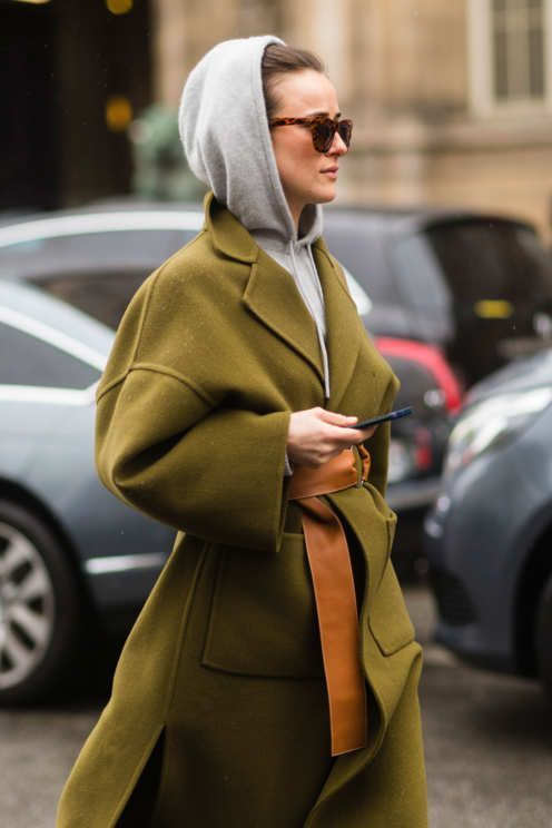 How to layer in style on a super cold winter day.
