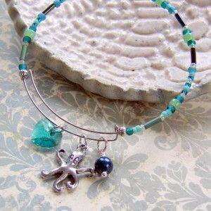 How to make an Alex and Ani style expandable bangle bracelet with Memory Wire an…