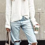 How to wear boyfriend jeans in winter sincerely jules 61+ New Ideas