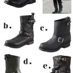 I have a black pair from 7 for all Mankind. ♥