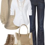 I like how the white shirt flatters the slimmer waist and then flares out for th...