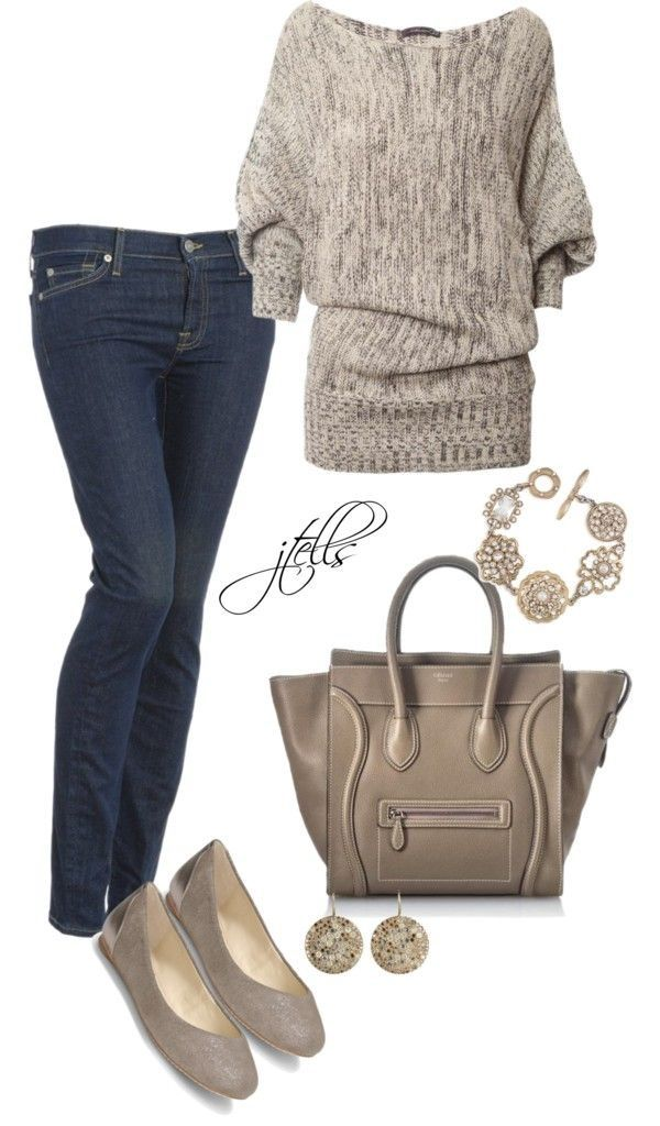 I love every piece here! So dang cute! Ways To Wear A Fall Sweater Now (28)