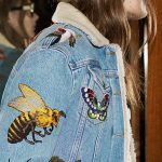 INSPIRE ME  This Gucci embroidered denim jacket from their Pre-Fall 2016 show fe...