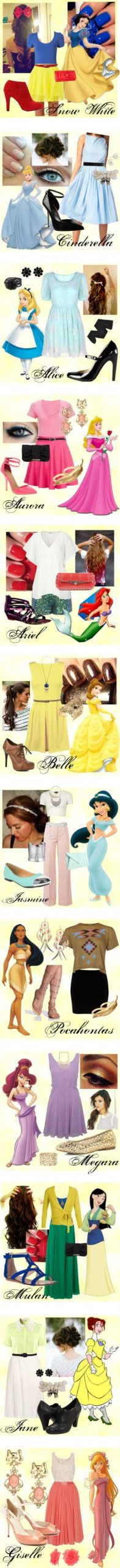Inspired by Disney Women – Polyvore