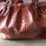 JESSICA SIMPSON croc embossed large handbag tote JESSICA SIMPSON croc embossed l...