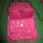 Jessica Simpson HAND BAGS shoulder bag SNAPS PINK Jessica Simpson hand bag-shoul...