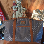 Jessica Simpson Socialite Travel Tote Details Redefine your on-the-go aesthetic ...