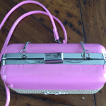 Jessica Simpson pink handbag Jessica Simpson pink handbag. Used only once but do...