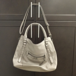 Jessica Simpson purse Gently used Jessica Simpson purse. Gray/beige color. Can b...