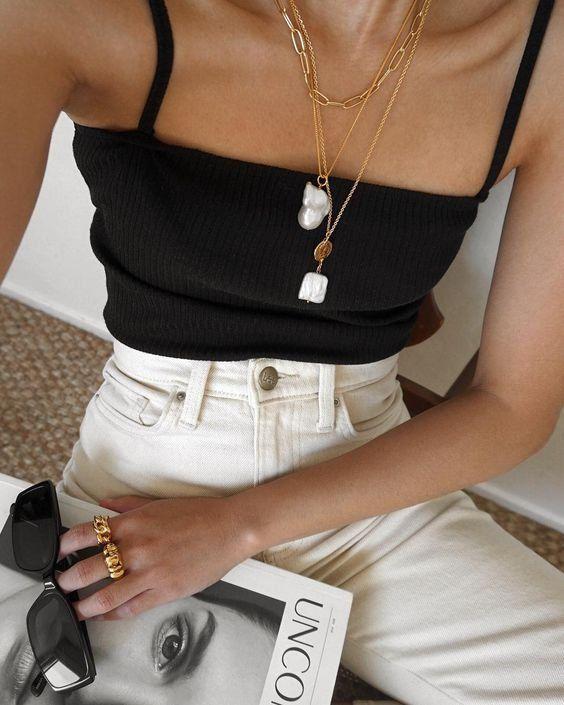 Jewellery | Necklaces | Kettingen | Rings | Ringen | Sunglasses | White | Black …
