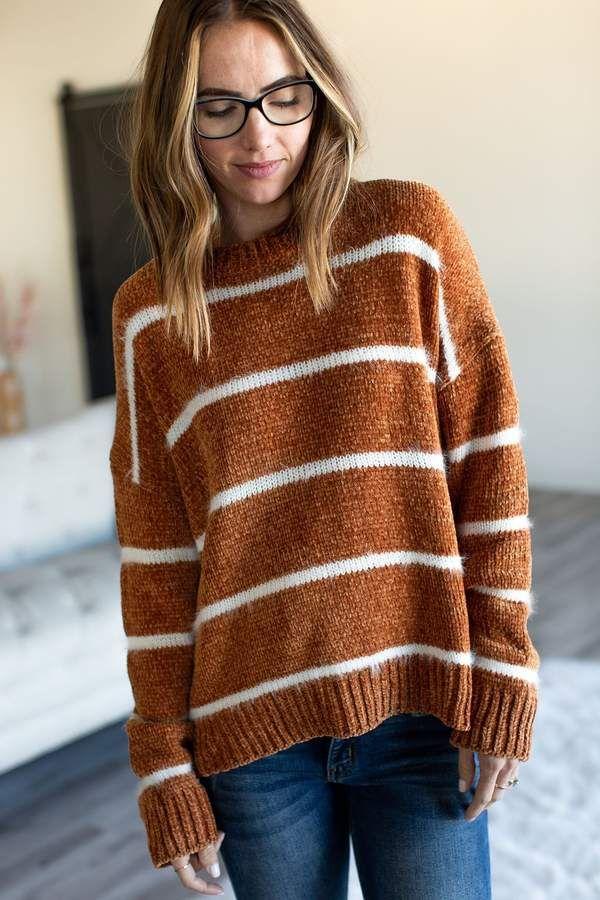 Josslyn Sweater – Camel