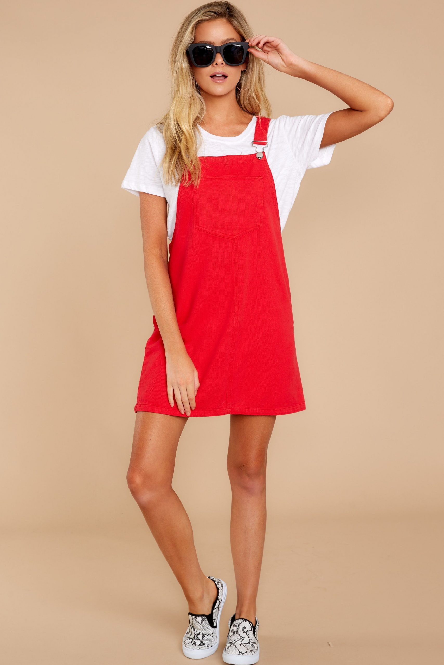 Jump Into Style Red Jumper
