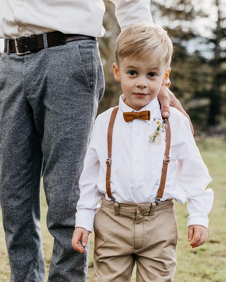 Kid Bow Tie // Maple