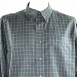 L.L. Bean Men's Button Down Shirt Black Watch L.L. Bean Men's Button Down Sh...