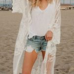 Lace Cardigan Beach Cover Up