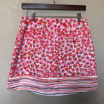 Lady Hagen pink orange flowers tennis skirt 2 XSmall  Shorts   Good condition no...