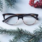 Laurel Eyeglasses in tea rose fade for Women