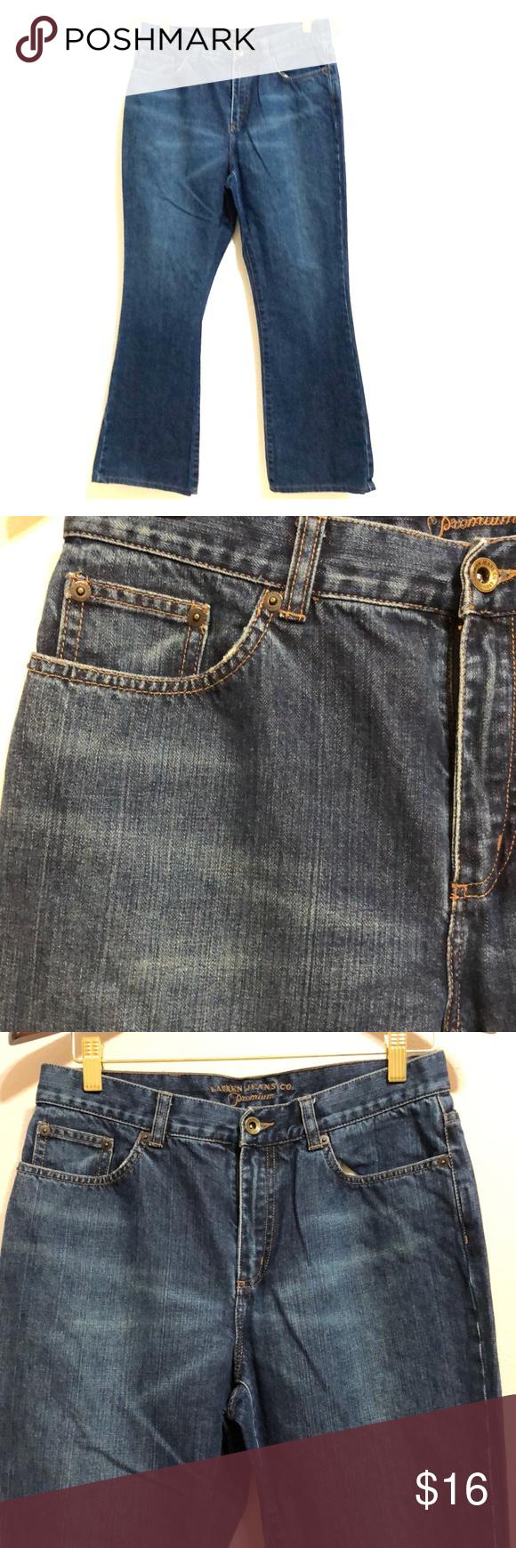 Lauren Jeans Co.| Ladies Wide Leg Jeans 10P Brand: Lauren Jeans Co. Size: 10 P C…