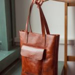 Leather tote bag, leather tote, brown tote bag, laptop bag women, leather handbag, vintage leather t