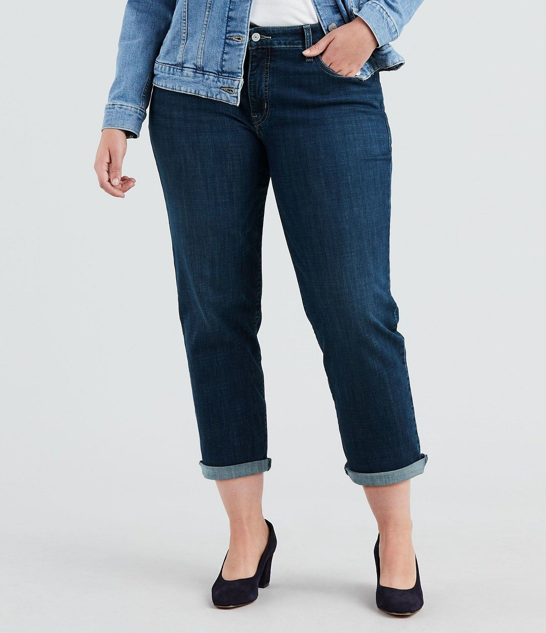 Levi's Plus Boyfriend Jeans – Dk Everyday 18W