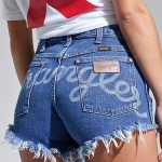 Lil Nas X Collection: Women's Cut-Off Short | Womens Shorts by Wrangler®
