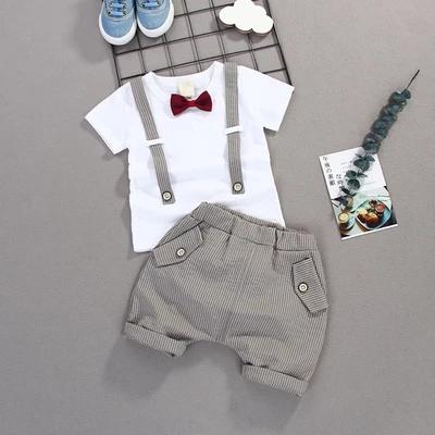 Little Gentleman | T-Shirt & Shorts Set (9M-4T) – Babe Threads