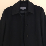 Liz Claiborne black pea coat size 8 P Black button up pea coat by Liz Claiborne....