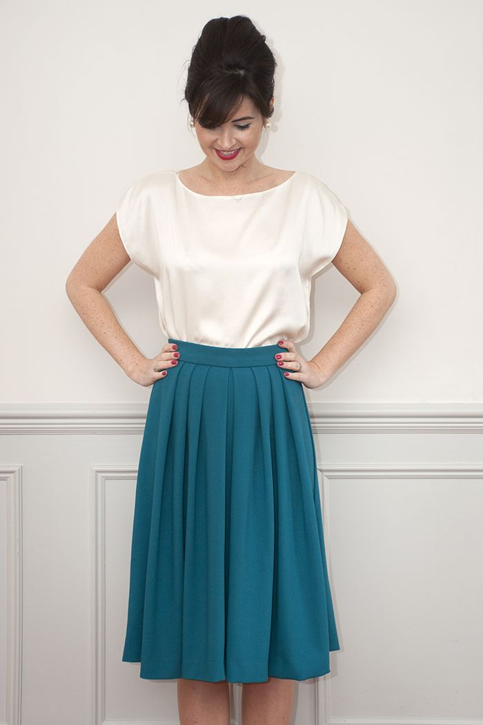 Lizzie Skirt Sewing Pattern: Sew Over It Online Fabric Shop