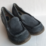 London Underground Blue Suede Loafer 7.5M London Underground Suede and fabric up...