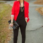 Love the red blazer